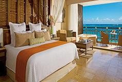 Habitación Preferred Club Suite Lunamielera Cama King del Hotel Hotel Dreams Riviera Cancún Resort and Spa