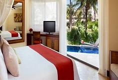 Habitación Preferred Club Vista al Mar y Frente Piscina King del Hotel Hotel Dreams Riviera Cancún Resort and Spa