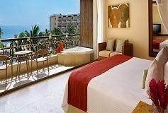 Habitación Premium Deluxe Vista al Mar Cama King del Hotel Hotel Dreams Riviera Cancún Resort and Spa