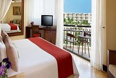 Habitación Premium Deluxe Vista Tropical al Jardín Cama King del Hotel Hotel Dreams Riviera Cancún Resort and Spa