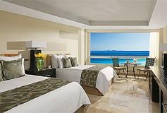 Habitación Deluxe Ocean Front Double del Hotel Hotel Dreams Sands Cancún Resort & Spa