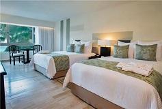Habitación Deluxe Partial Ocean View Double del Hotel Hotel Dreams Sands Cancún Resort & Spa