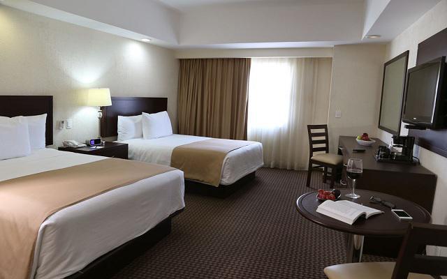 Habitación Estándar con Dos camas del Hotel Hotel Ejecutivo Express