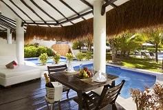 Habitación Honeymoon Private Pool Swim Up Casita Suite del Hotel Hotel El Dorado Casitas Royale by Karisma