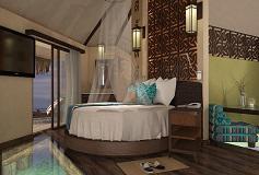 Habitación Overwater Bungalows del Hotel Hotel Palafitos Overwater Bungalows by Karisma