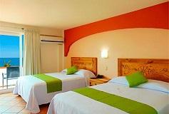 Habitación Estándar Vista al Mar + WiFi Gratis del Hotel Hotel El Pescador Vallarta Centro