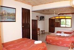 Habitación Triple del Hotel Hotel EMS Arcos Catemaco