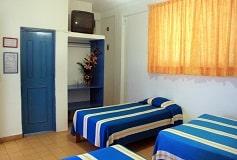 Habitación Estándar Triple del Hotel Hotel Encino Vallarta Centro
