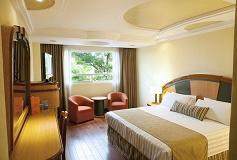 Habitación Suite Cama King con Jacuzzi del Hotel Hotel Escandón