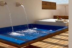 Habitación Junior Suite con Terraza Roof Top del Hotel Hotel Excellence Playa Mujeres