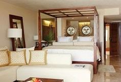 Habitación Junior Suite con Vista al Spa o Piscina del Hotel Hotel Excellence Playa Mujeres