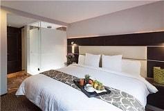 Habitación Twin Ejecutiva con Sauna del Hotel Hotel Exe Cities Reforma