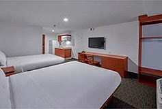 Habitación Suite Dos Camas Queen Size del Hotel Hotel Extended Suites Monterrey Aeropuerto