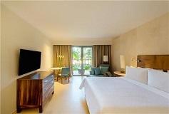 Habitación Premium Vista al Jardín, 1 King del Hotel Hotel Fiesta Americana Condesa Cancún All Inclusive