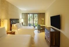 Habitación Premium Vista al Jardín, 2 Matrimoniales del Hotel Hotel Fiesta Americana Condesa Cancún All Inclusive