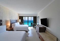 Habitación Premium Vista al Mar, 2 Matrimoniales del Hotel Hotel Fiesta Americana Condesa Cancún All Inclusive