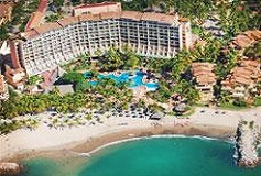 Habitación Superior Room King Vista Parcial al Mar del Hotel Hotel Fiesta Americana Puerto Vallarta All Inclusive & Spa