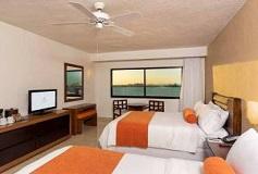 Habitación Lx Vista Laguna del Hotel Hotel Flamingo Cancún Resort