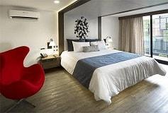 Habitación Suite Ejecutiva del Hotel Hotel FlowSuites Condesa