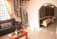 Habitación Suites del Hotel Hotel Francés