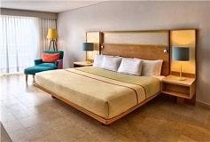 Habitación Deluxe Plan Europeo del Hotel Hotel Galería Plaza Veracruz by Brisas