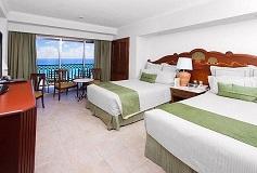 Habitación Deluxe con Vista Frontal al Mar del Hotel Hotel GR Solaris Cancún