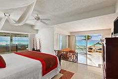 Habitación Gran Junior Suite con Acceso Directo a la Playa del Hotel Hotel Gran Caribe Resort and Spa