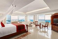 Habitación Gran Suite Presidencial con Vista o Frente al Mar del Hotel Hotel Gran Caribe Resort and Spa