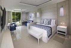Habitación Junior Suite Deluxe Cuadruple del Hotel Hotel Grand Sirenis Riviera Maya