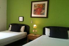 Habitación Suite de Una Recámara Camas Matrimoniales del Hotel Hotel Green 16
