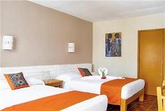 Habitación Estándar Doble WiFi Gratis + Desayuno Incluido del Hotel Hotel Hacienda de Vallarta Las Glorias