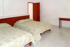 Habitación Doble del Hotel Hotel Hacienda de Zapata
