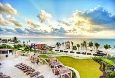 Habitación Luxury Suite Vista al Mar con Terraza y Jacuzzi del Hotel Hotel Hideaway at Royalton Riviera Cancún Sólo Adultos