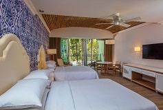 Habitación Junior Suite Vista a la  Piscina del Hotel Hotel Hilton Puerto Vallarta Resort All Inclusive
