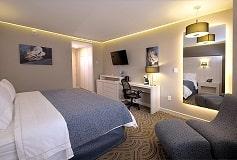 Habitación King Leisure No Fumar del Hotel Hotel Holiday Inn Express Pachuca