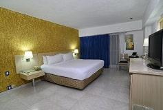 Habitación Estándar con Una Cama King Size del Hotel Hotel HS HOTSSON Smart Acapulco