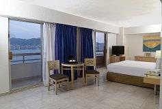 Habitación Junior Suite con Una Cama King size del Hotel Hotel HS HOTSSON Smart Acapulco