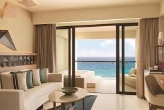 Habitación Turquoize Ocean Front Master Double del Hotel Hotel Hyatt Ziva Cancún