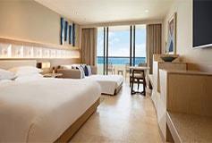 Habitación Ziva Club Ocean Front Doble del Hotel Hotel Hyatt Ziva Cancún