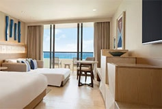 Habitación Ziva Club Ocean Front King del Hotel Hotel Hyatt Ziva Cancún
