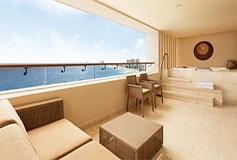 Habitación Ziva Club Two Bedroom Ocean Front Suite del Hotel Hotel Hyatt Ziva Cancún