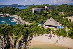 Habitación De Lujo King con Vista al Jardín del Hotel Hotel Coral Blue Huatulco