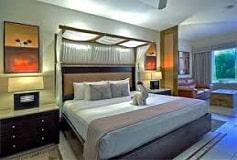 Habitación Suite Jacuzzi Vista al Jardín Cama King Size del Hotel Hotel Kore Tulum Retreat & Spa Resort