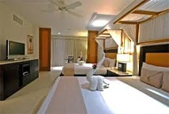 Habitación Suite Jacuzzi Vista al Jardín Dos Camas del Hotel Hotel Kore Tulum Retreat & Spa Resort