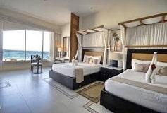 Habitación Suite Jacuzzi Vista al Mar Dos Camas del Hotel Hotel Kore Tulum Retreat & Spa Resort