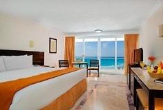 Habitación Habitación De Lujo Vista al Mar del Hotel Hotel Krystal Cancún