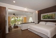 Habitación Deluxe King Vista al Jardín del Hotel Hotel Krystal Grand Nuevo Vallarta