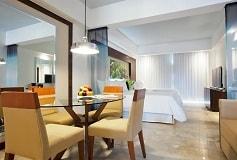Habitación Junior Suite Doble Vista al Mar del Hotel Hotel Krystal Grand Nuevo Vallarta
