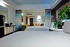 Habitación Junior Suite King Swim Up Vista a la Piscina del Hotel Hotel Krystal Grand Nuevo Vallarta