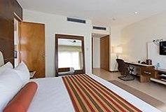 Habitación Suite de 1 Recámara con 1 Cama King del Hotel Hotel Krystal Urban Cancún Centro